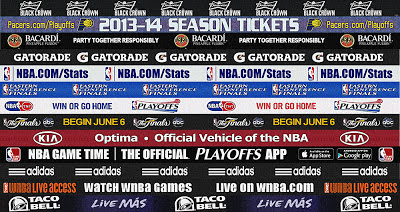 NBA 2K13 Pacers Finals 2013 Dornas Court Update Advertisements