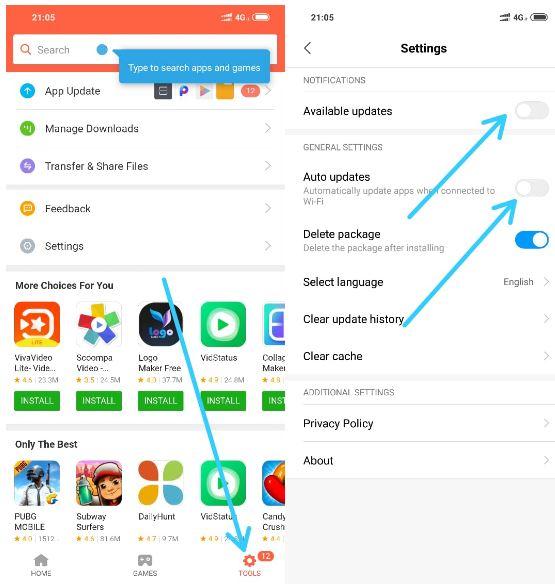 Cara Menonaktifkan Update Aplikasi Otomatis di Hp Xiaomi