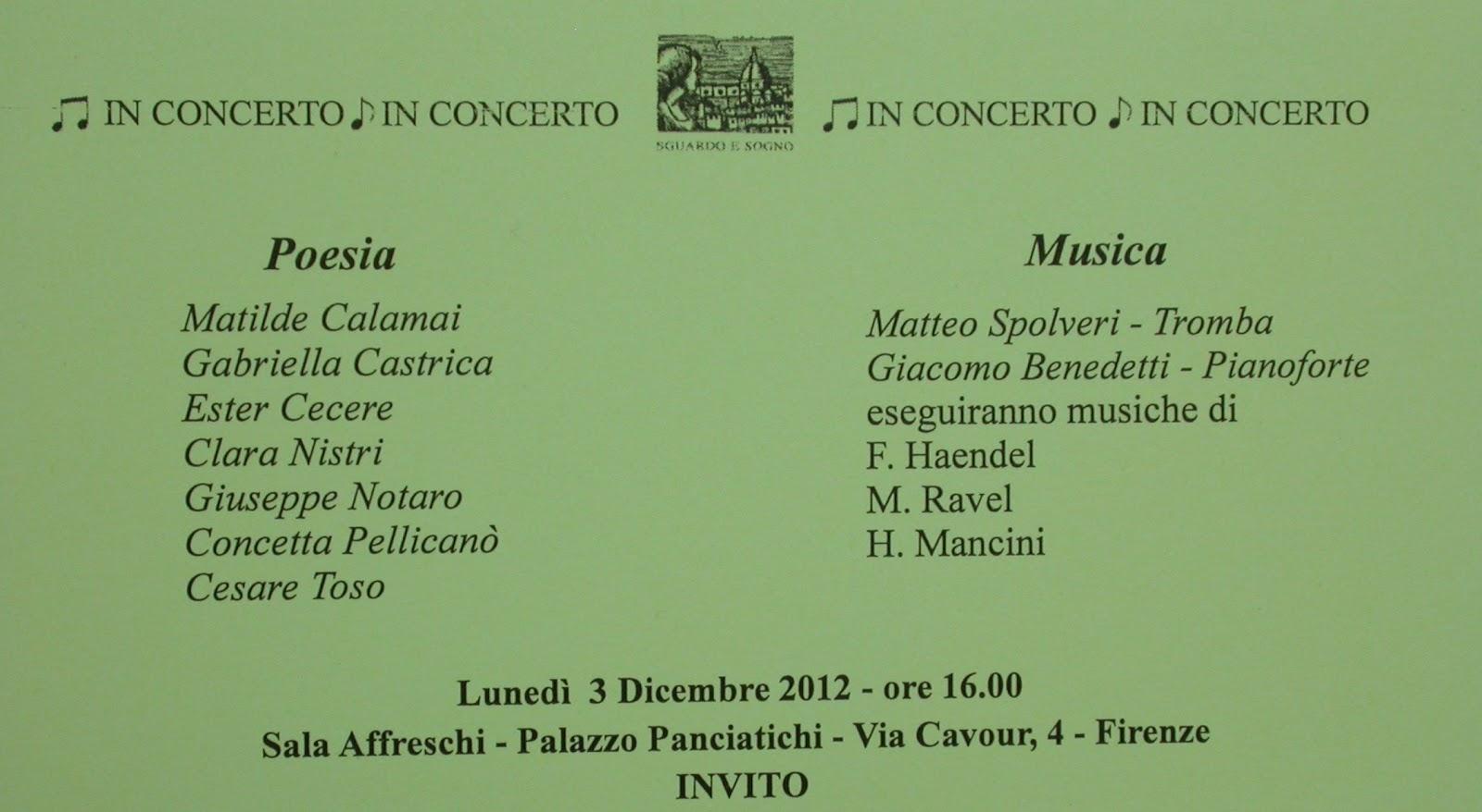 Edizioni Tracce: 11/01/2012 - 12/01/2012