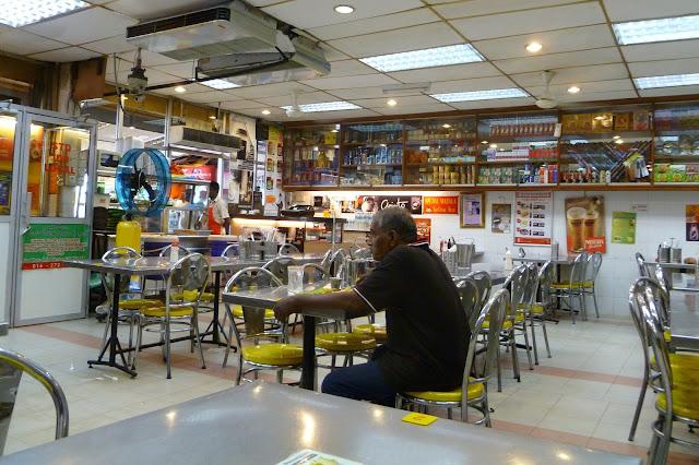 Restauracja w pobliżu Batu Caves
