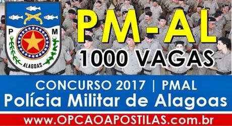 Apostila Concurso PM-AL 2017 Soldado