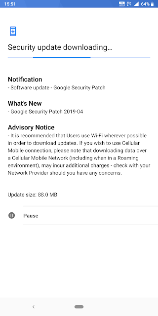 Nokia 7 Plus receiving April 2019 Android Security update