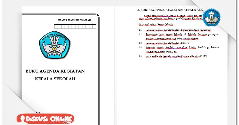 Berkas Guru Sekolah Kumpulan Administrasi Tu Dan Kepala