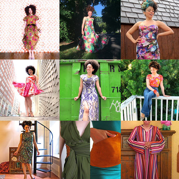 oonaballoona | by marcy harriell | Ten Years In Fabric: A Decade of Sewing!