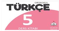5. Sınıf  MEB Yayınları Türkçe Çalışma Kitabı