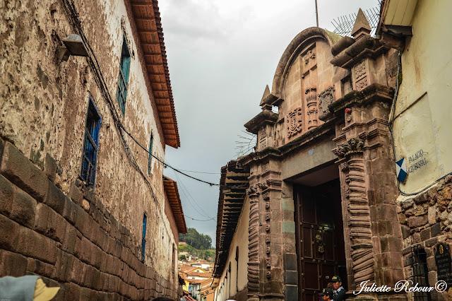 Ruelles dans Cusco au Pérou