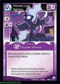My Little Pony Princess Luna, Night Mare Canterlot Nights CCG Card