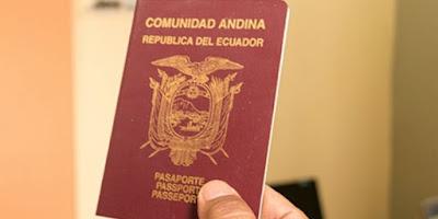 Países que los ecuatorianos no necesitan VISA
