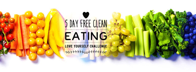 Free Clean Eating Group, Love Yourself Challenge