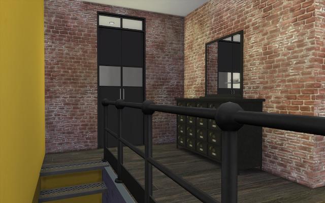 usine maison sims 4