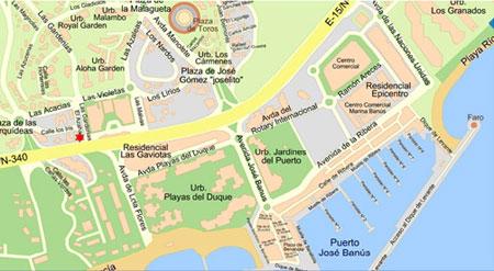 Marbella Map Of Spain.Seoul Tv Channel Map Of Marbella Spain