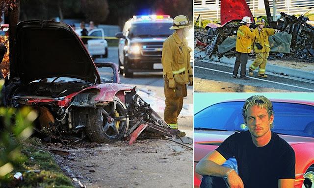 Car Crash Face Paul Walker