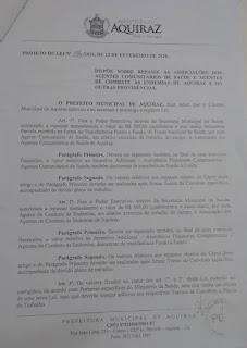 2 Prefeitura vai pagar 60% de Incentivo de Produção + 14° Salário