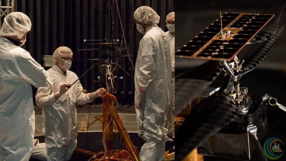 NASA's Mars Helicopter flight test