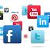 Κινούμενο social button menu 1