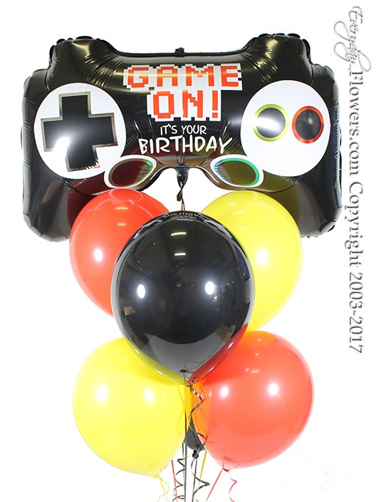 Video Game Controller Balloons by Everyday Flowers