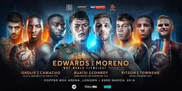 Charlie Edwards vs Angel Moreno poster