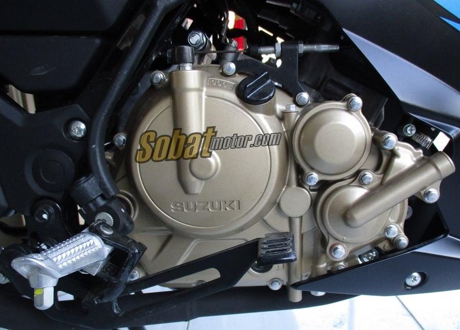 Tak lama lagi . . next sport 150cc Suzuki dengan basis mesin dari Satria Injeksi akan lahir . .