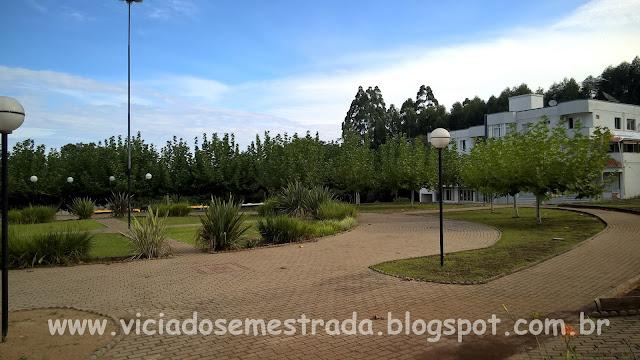 Praça Central de Alto Feliz, RS