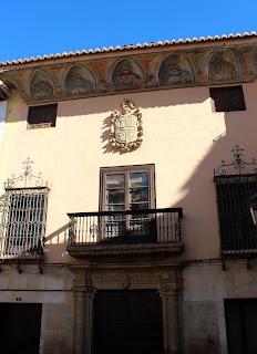 Palacete en la calle Ancha de Guadix