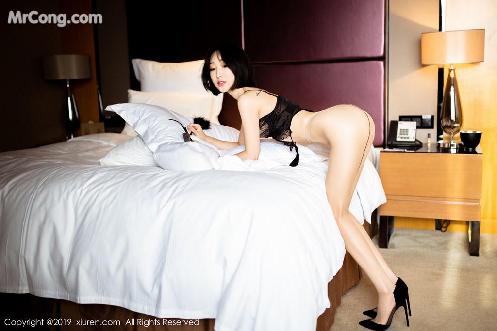 Image XIUREN-No.1670-Xiao-Jiu-Yue-MrCong.com-045 in post XIUREN No.1670: Xiao Jiu Yue (小九月) (52 ảnh)