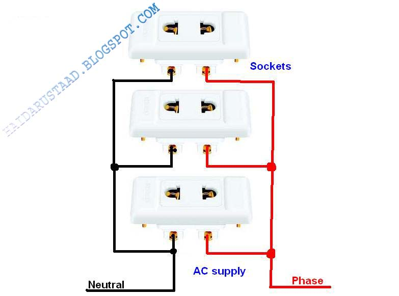 How to wire sockets in Parallel Circuit English video ... A Parallel Circuit Home Wiring on