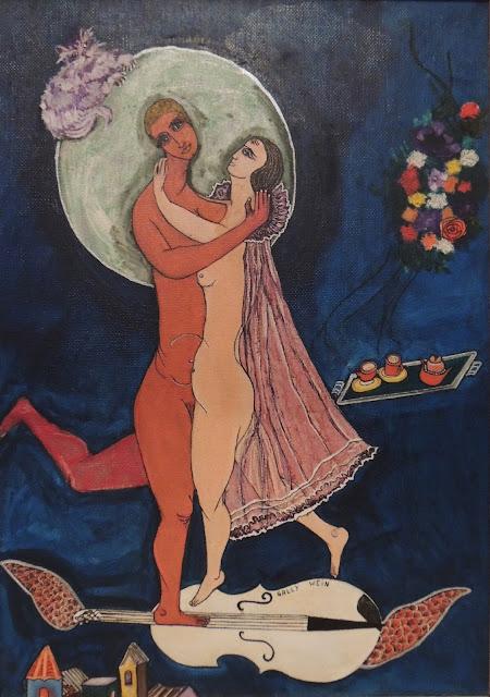 Sally Weintraub arte naíf surrealismo boda nupcias