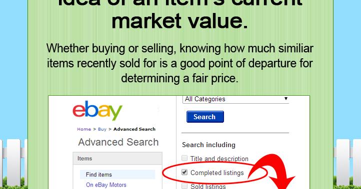 Tip What S It Worth Use Ebay Tool To Find A Fair Price Okc Craigslist Garage Sales Oklahoma City