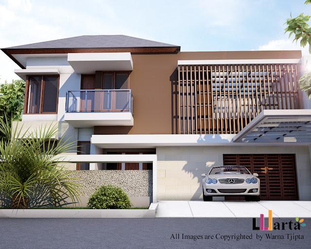 Desain Rumah Tinggal Tropis
