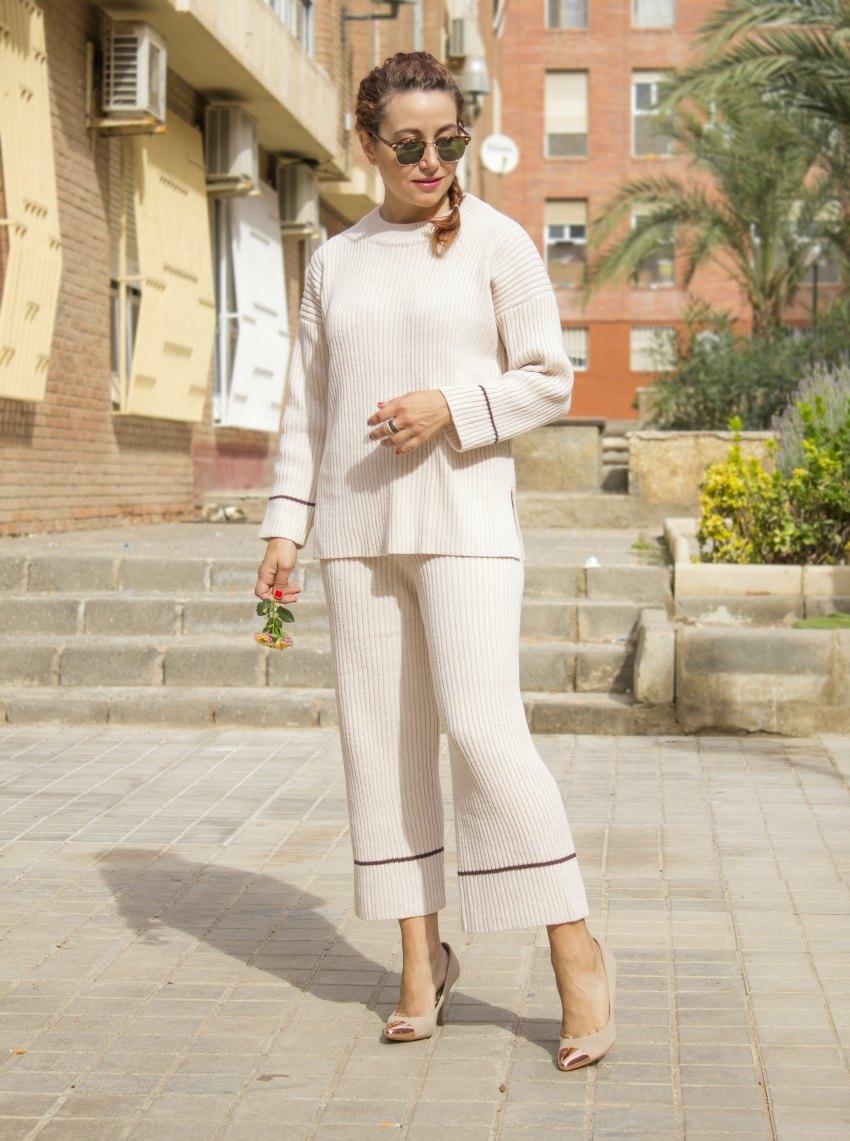 melange_boutique_fashion_blog_de_moda_conjunto_de_punto_knit_coord_work_outfit_camisa_del_reves_zara_inverse_shirt