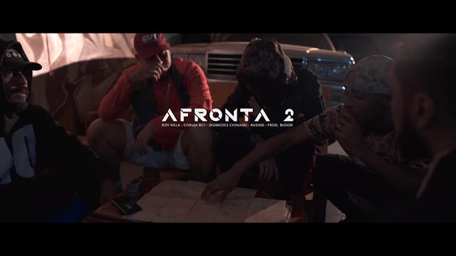 """Boy Killa lança o clipe """"AFRONTA 2"""" com part. de Coruja BC1, Diomedes Chinaski, Rashid e scratchs do DJ Nato PK"""