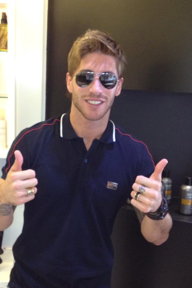 Sergio Ramos New Hairstyle Men Hairstyles Short Long