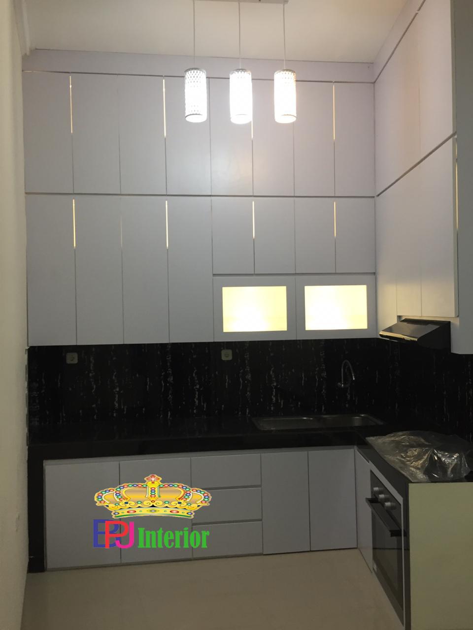 Kitchen set rumah cluster apad recidence bekasi