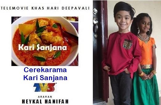 Telemovie Kari Sanjana - Cerekarama Sempena Deepavali