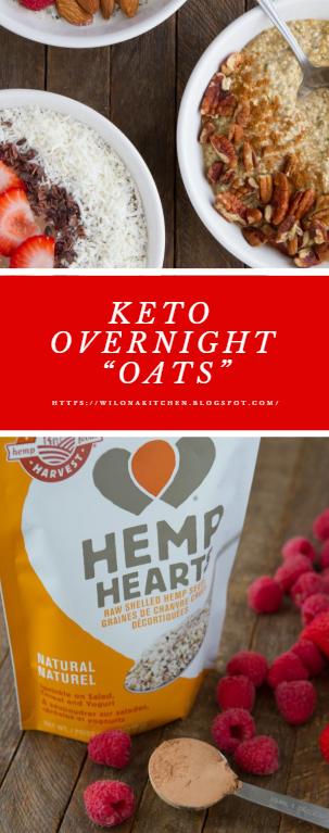 """Keto Overnight """"Oats"""""""