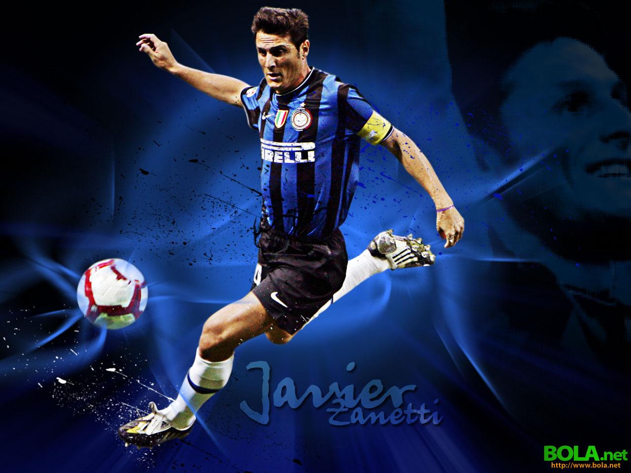 Football Guides: Javier Zanetti Wallpaper 2011