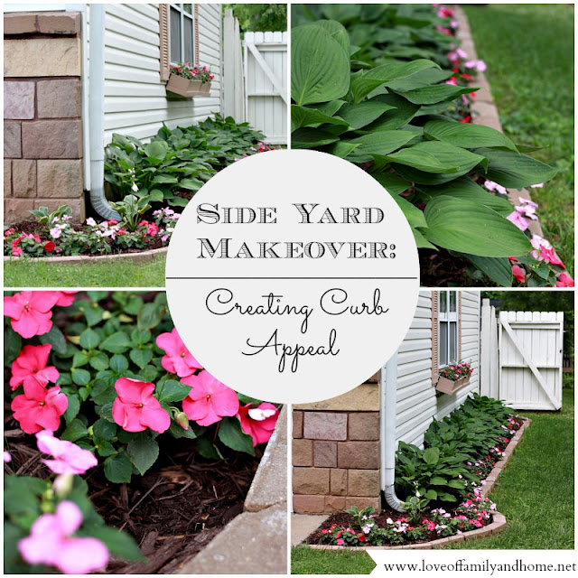 Curb Appeal Ideas: Side Yard Makeover: Creating Curb Appeal