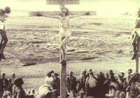 Escena película Del pesebre a la cruz - 1912