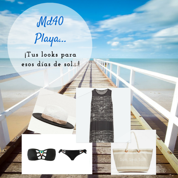 looks de playa low cost moda baño
