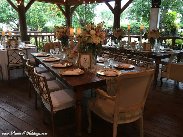 Rustic Beach Wedding Venue Seating