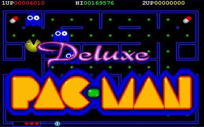 Deluxe Pacman - Jeu d'Arcade sur PC