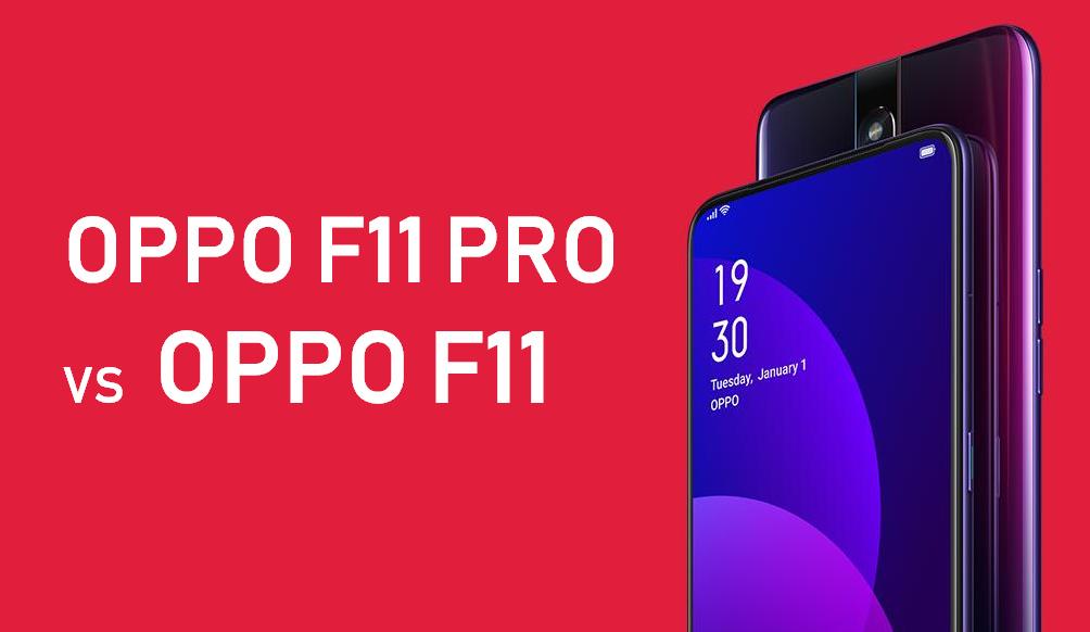 OPPO F11 vs OPPO F11 Pro