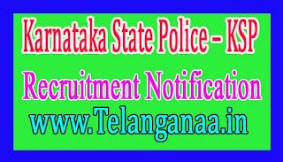 Karnataka State Police Recruitment Notification 2017 Apply Last Date 14-12-2016