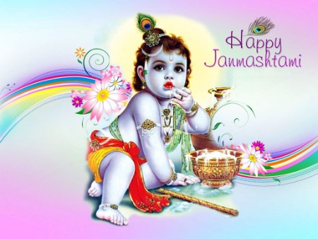 cute images of lord bal krishna