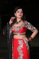 Sirisha Dasari in Red Ghagra Backless Choli ~  023.JPG