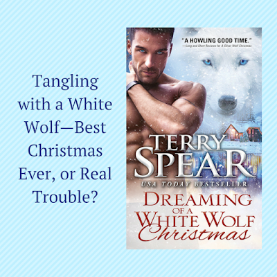 Excerpt, Giveaway, Dreaming of a White Wolf Christmas, Terry Spear, Bea's Book Nook