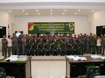 Pangdam XIII/Merdeka Buka RAT Puskop Kartika TA. 2018