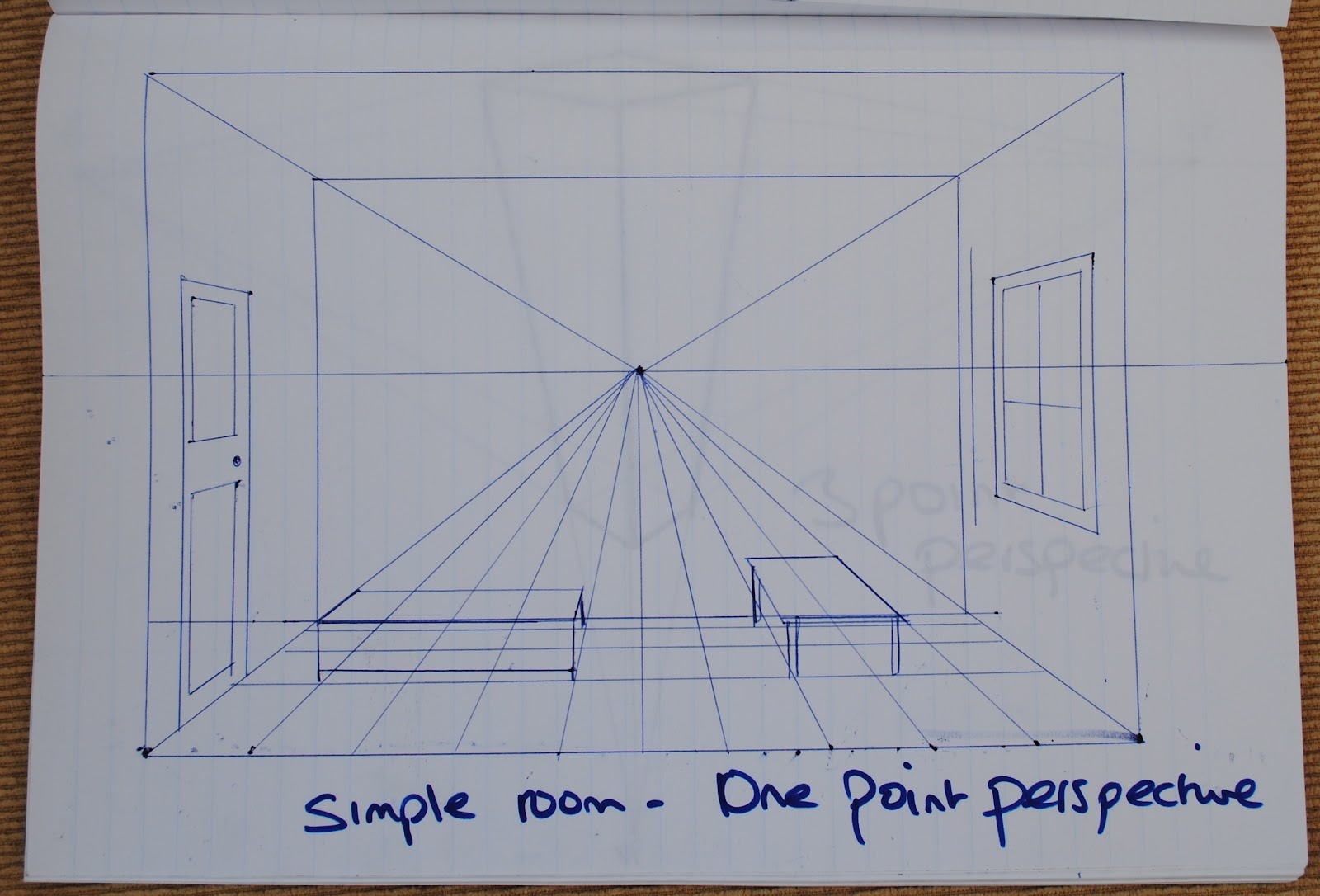 Helen S Painting Oca Blog Research Point Linear Perspective