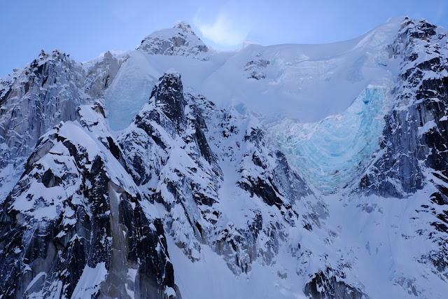 Alaska, ghiacciaio sul Monte Denali. Fotografia di Mauro Taramelli
