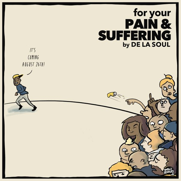 "De La Soul disponibiliza pra download gratuito o EP ""For Your Pain & Suffering"""